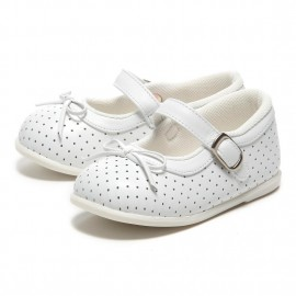 "LEATHERIAN SECOND SHOES White ""Ribbon"""