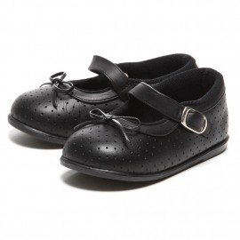 """LEATHERIAN SECOND SHOES White """"Ribbon"""""""