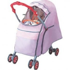 Aprica Rain Cover WITH BABY