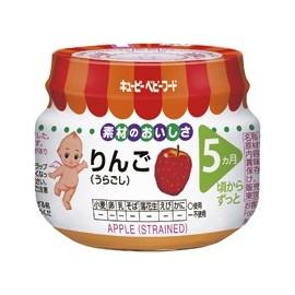 """Kewpie """" Apple"""" straind from 5 month"""