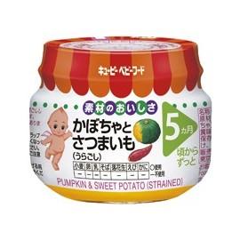 "Kewpie "" Pumpkin & Sweet Potato "" strained протертые тыква и сладкий картофель с 5 месяцев"
