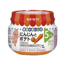 """Kewpie """" Carriot & Potoato"""" strained протертые морковь и картофель с 5 месяцев"""