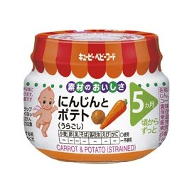"Kewpie "" Carriot & Potoato"" strained from 5 month"