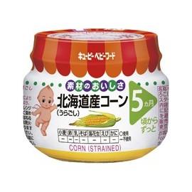 """Kewpie """"Corn"""" strained протертая сладкая кукуруза с 5 месяцев"""
