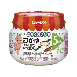 "Kewpie ""Rice Porridge with Dried Bonito"" from 5 month"