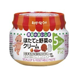 "Kewpie ""Scalop & Wegetable Paste"" from 5 month"