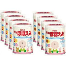 MEIJI Hohoemi детская молочная смесь с 0-9мес (1коробка х 8банок)