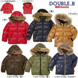 Miki House Down Unisex  Jacket  пуховая двусторонняя куртка размер 140-150 см