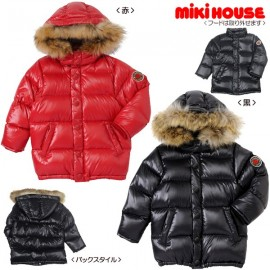 Miki House Down Unisex  Jacket  пуховая двусторонняя размер 100-110 см