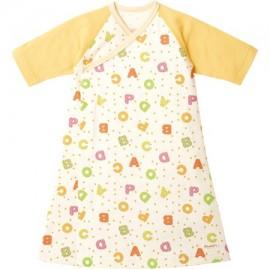 Combimini платье-пеленка для новорожденного Yellow
