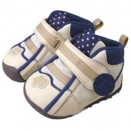 Pigeon baby shoes New Model Step 3  Beige/Navy