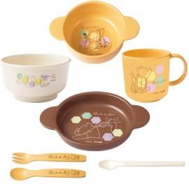 "Combi Baby Label Dish Smile Set ""Winnie-the-Phoo"""