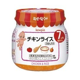 """Kewpie """"Chicken & Rice"""" курица с рисом с 7 месяцев"""