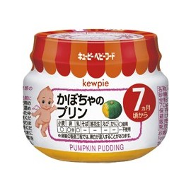"""Kewpie """"Pumpkin Pudding"""" тыквенный пудинг с 7 месяцев"""