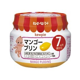 "Kewpie ""Mango Pudding"" from 7 month"