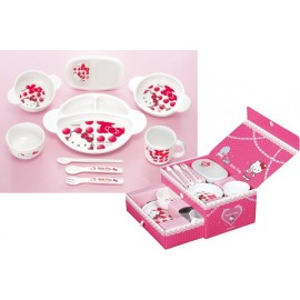 "Сombi Baby Dish Set "" Hello Kitty"""