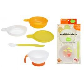 Combi Baby Label Dish Mini Set