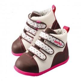 Ботиночки Aprica La sock 0・1・2 Step 1 Коричневый