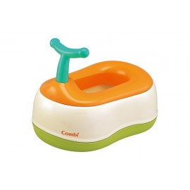 Детский горшок Combi Baby Label Toilet Orange