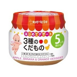 "Kewpie ""Fruits Yogurt"" dessert from 5 month"