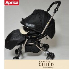 Stroller Laura Quattro GUILD Oxford Black Winter Style