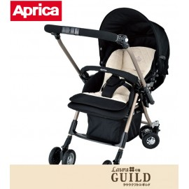 Stroller Aprica Laura Quattro GUILD Oxford Black