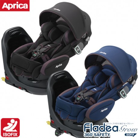 Child Carseat Aprica Fladea Grow ISOFIX 360° Safety