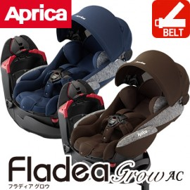 Child Carseat Aprica Fladea Grow AC (3 Step)