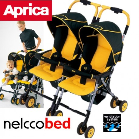 Stroller Aprica Nelko Bed Twin Thermo