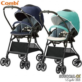 Stroller Combi White Label Sogucal α 4 Cass Light Egg Shock HS