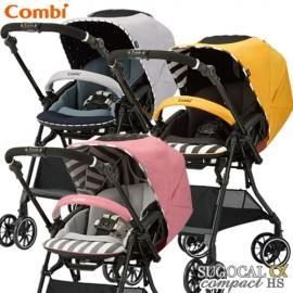 Stroller Combi White Label Sogucal α 4 Cass Compact Egg Shock HS