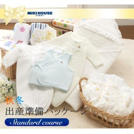 "Miki House First стандартный набор (подготовка перед родами) ""Blue"""