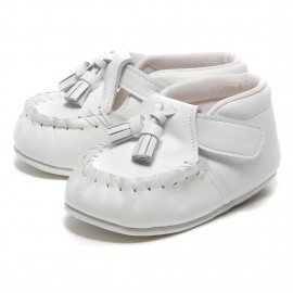 LEATHERIAN FIRST SHOES TASSEL