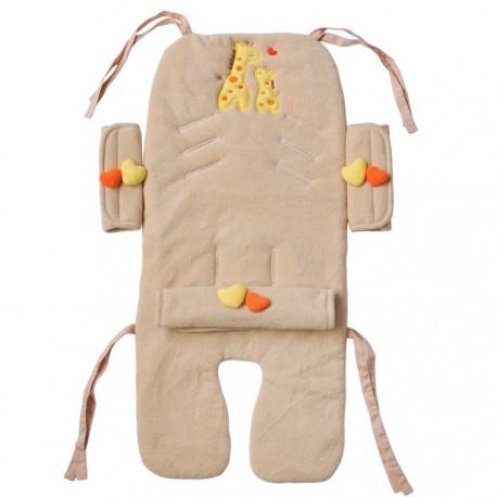 Amorosa mamma  набор в коляску из 4-х предметов Jiraffe