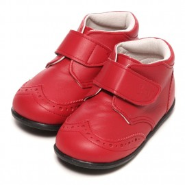 LEATHERIAN SECOND SHOES Red