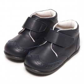 LEATHERIAN SECOND SHOES Navy