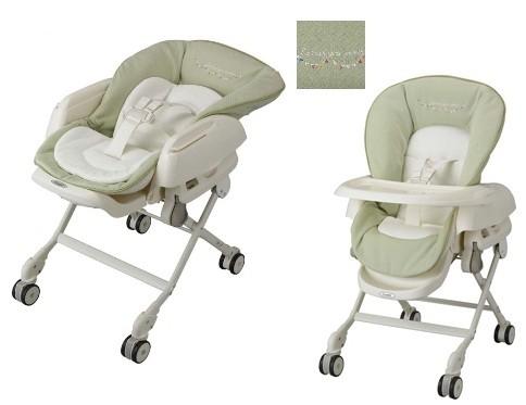Колыбелька-стульчик механическая Combi Baby Station Colorplus series