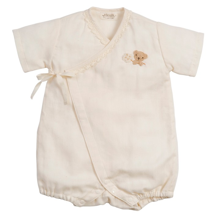 Amorosa mamma  боди для новородженного с коротким рукавом