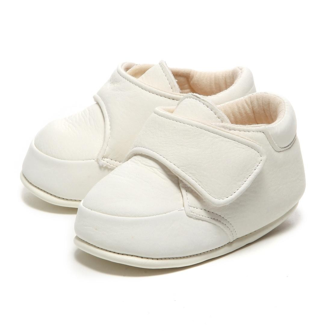 LEATHERIAN FIRST SHOES ECO LEATHER (первые шаги) белые