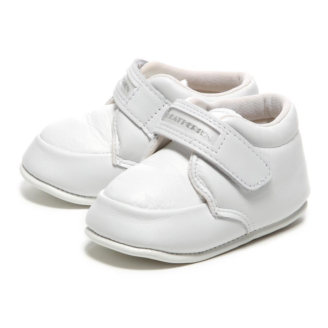 LEATHERIAN FIRST SHOES COMBI (первые шаги) белые
