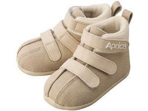 Ботиночки Aprica La sock Step 1 Бежевые