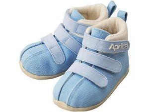 Ботиночки Aprica La sock Step 1 Голубые