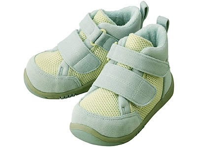 Ботиночки Aprica La sock Step 2 DX  Зелено-голубые
