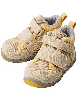 Ботиночки Aprica La sock Step 2 DX  Бежево-желтые