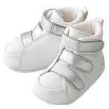 Ботиночки Aprica la sock First Step Model Белый/Серебряный
