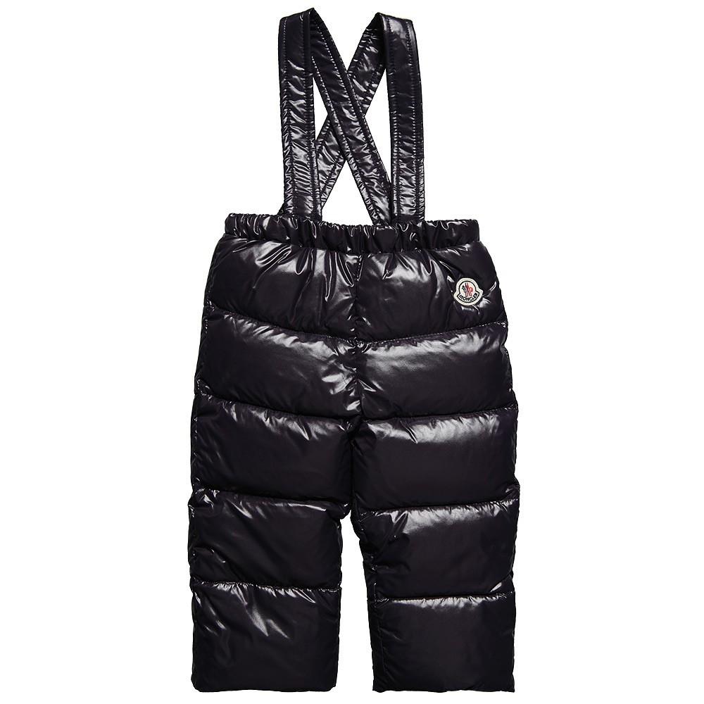 Moncler ENFANT пуховые штаны для мальчика 3 мес /3 лет Синий