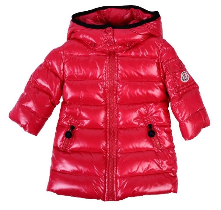Moncler ENFANT Baby Down Coat пуховое пальто 3 мес / 3 лет  Фуксия
