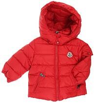 Moncler ENFANT Boys Down Jacket пуховая куртка для мальчика 3 мес /12 лет Красная