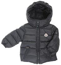 Moncler ENFANT Boys Down Jacket пуховая куртка для мальчика 3 мес / 3 лет Черная