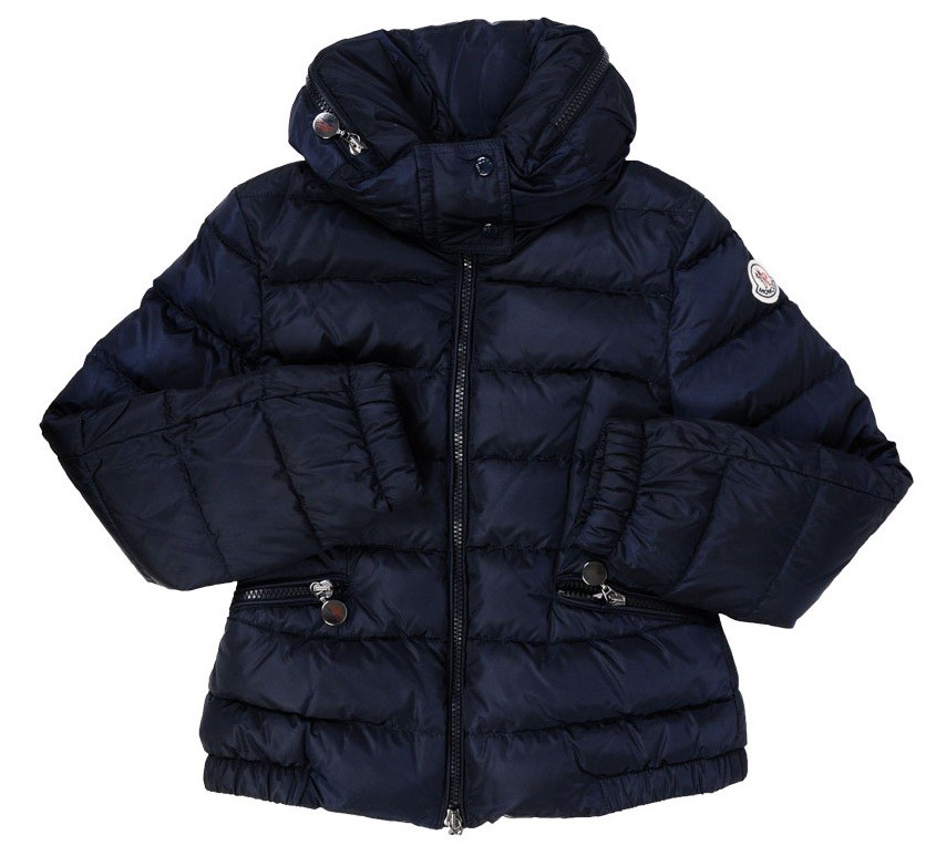 Moncler ENFANT Girls Down Jacket пуховая куртка для девочки 8/14 лет Синий